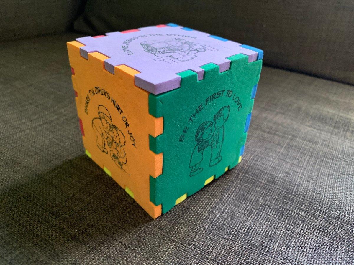 2020 0624 KTaliaferro Cube of Love