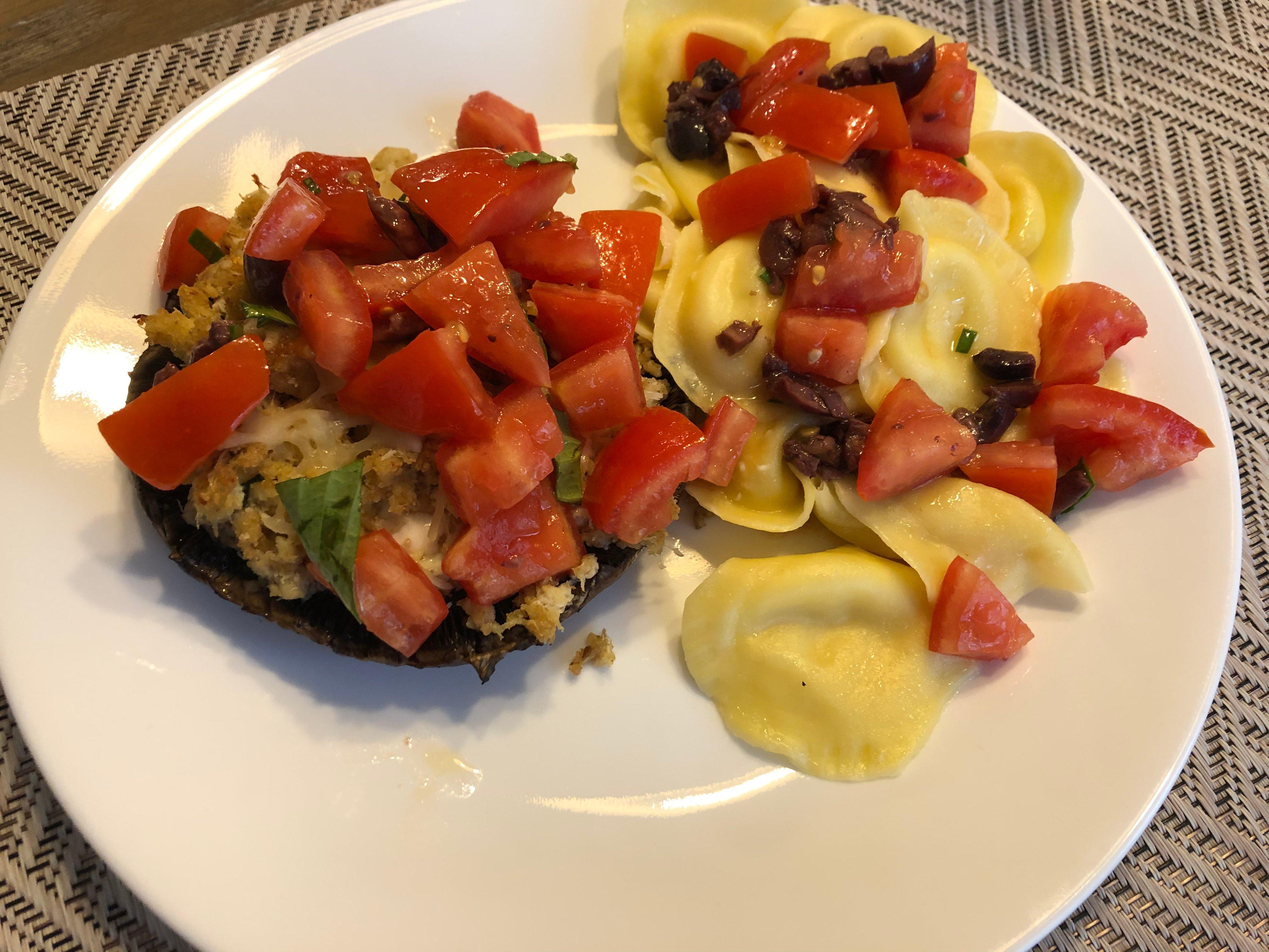 2020 0925 KUllo Crab stuffed mushroom
