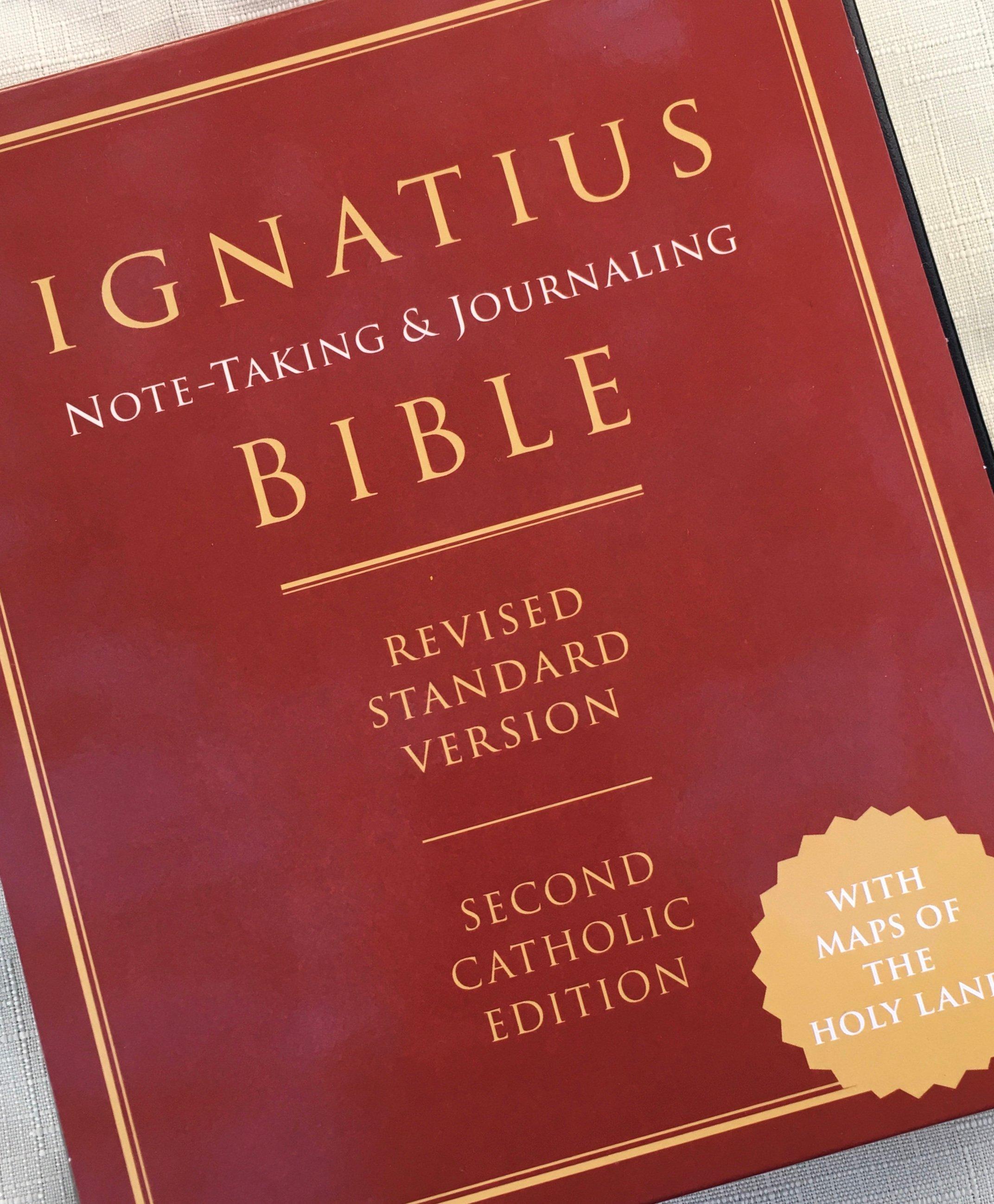 2020 1117 CAstfalk Ignatius Bible Cover