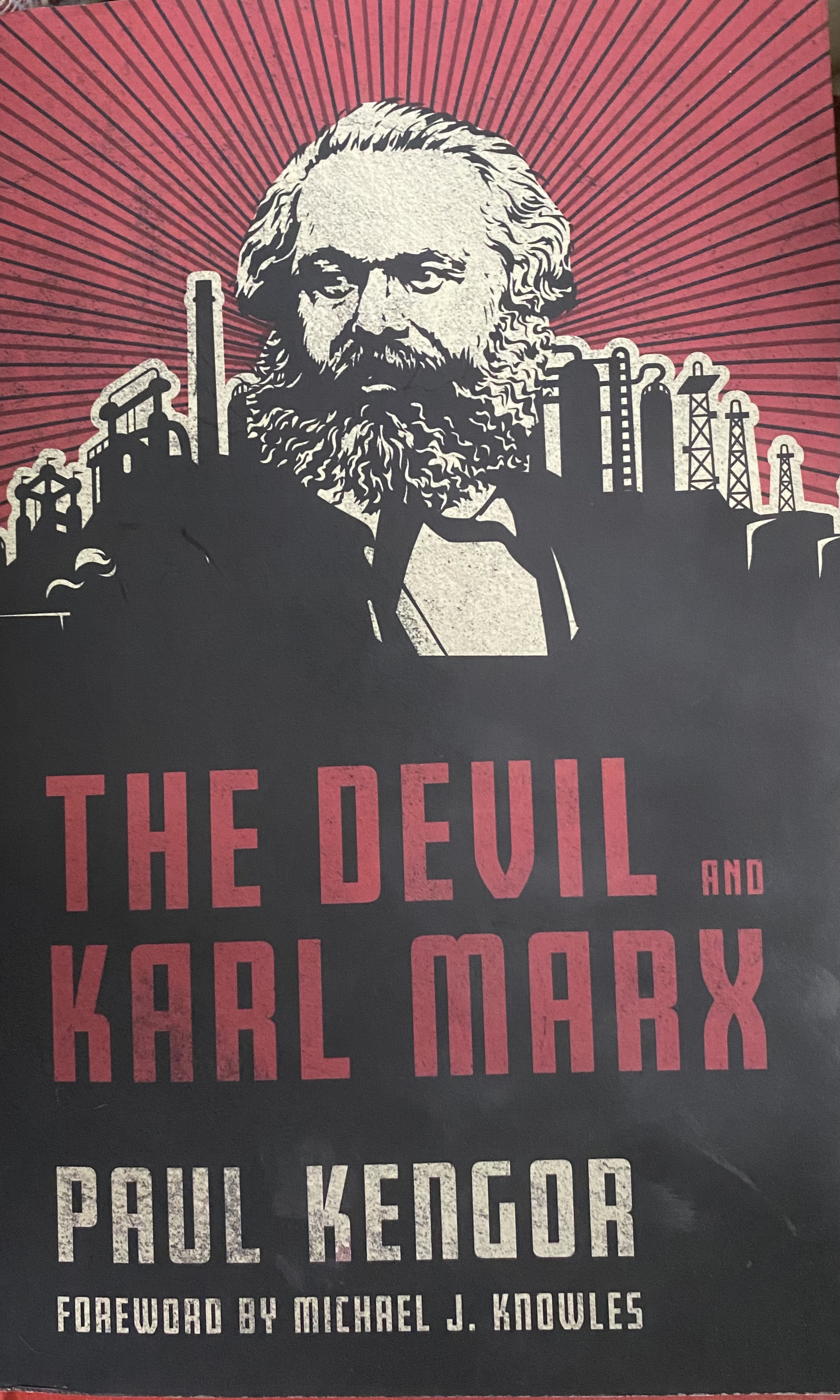 2020 1127 RSalonen Devil and Karl Marx book