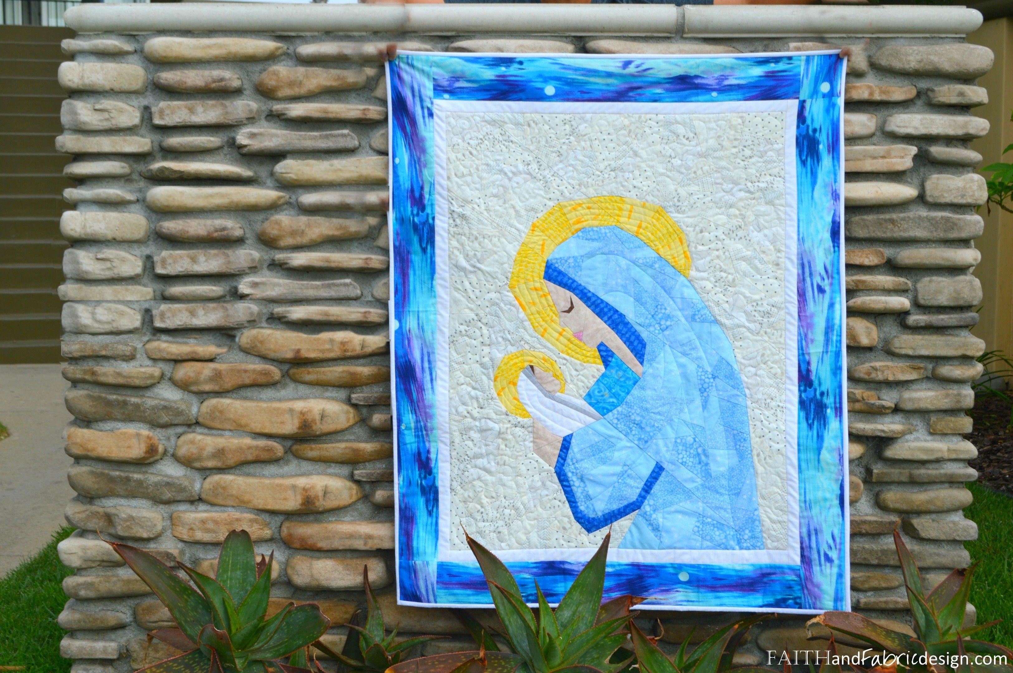 2020 1209 JenFrost-Mary Jesus Christian Quilt Pattern 11