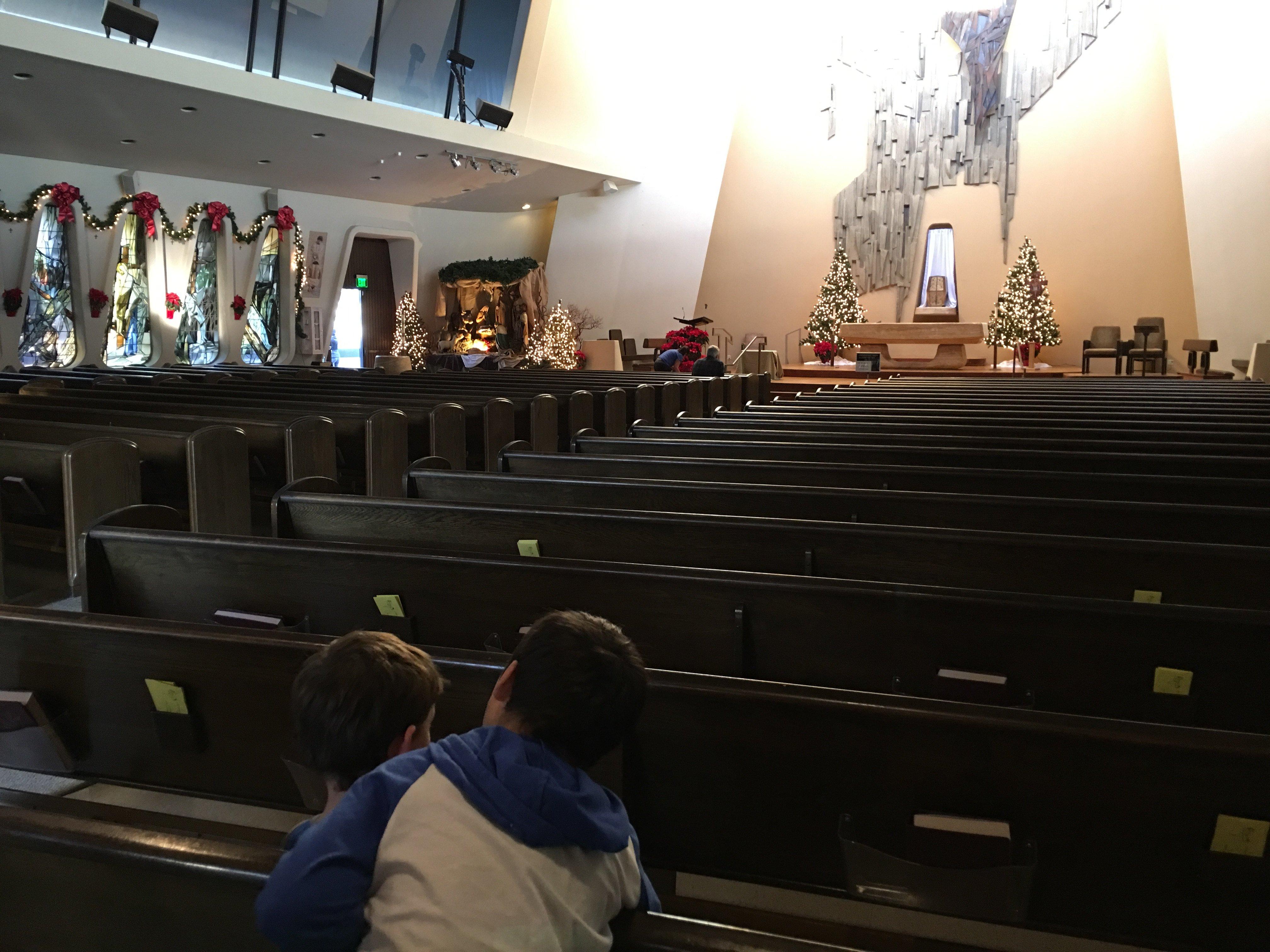 20210118 MHayes 2 My Children at St. Rita Parish Sierra Madre
