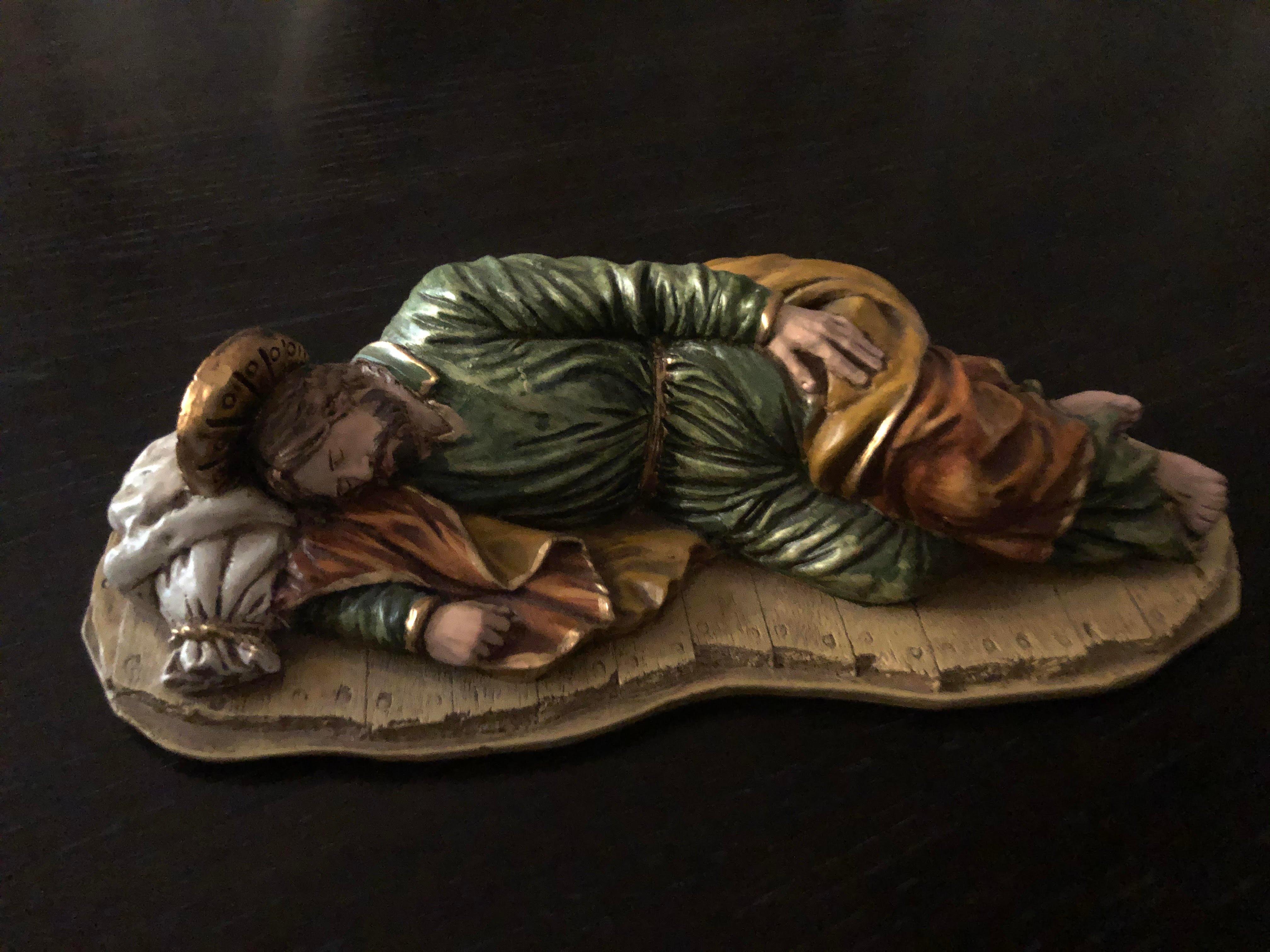 20210309 TMayeux Sleeping St. Joseph