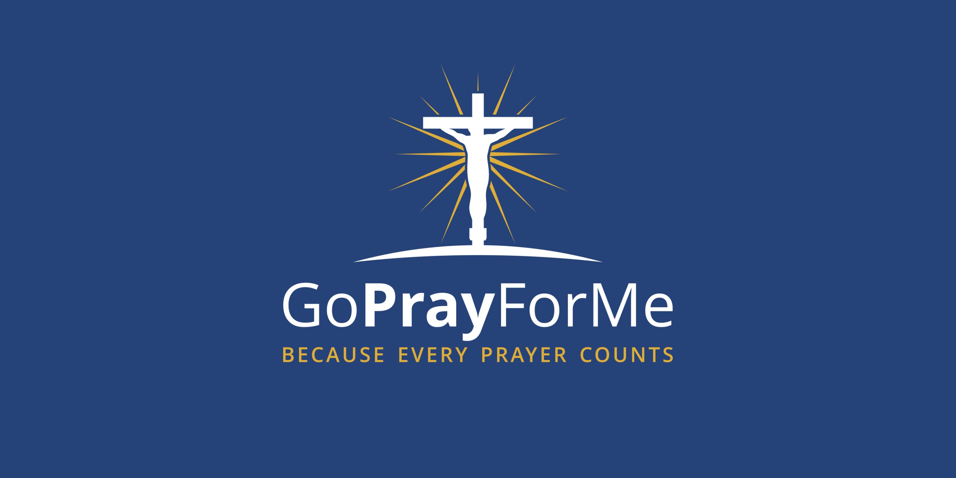 Go Pray For Me logo