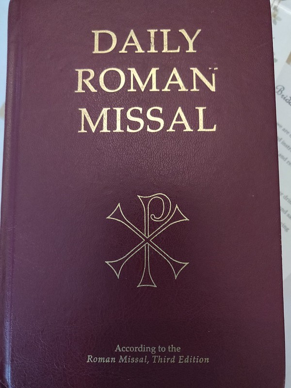 Daily Roman Missal cover