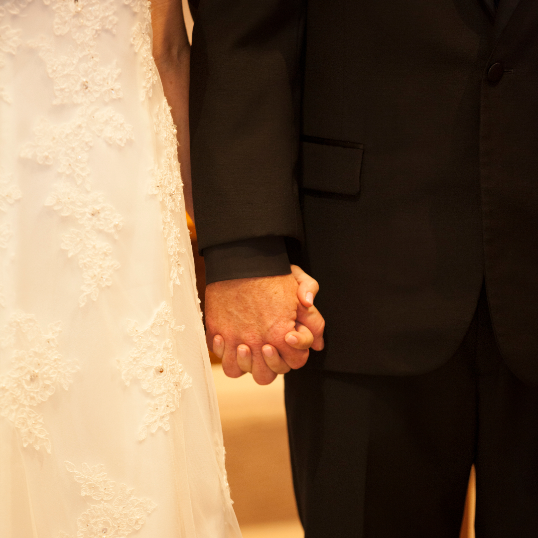 20210615 MHayes Holding hands wedding