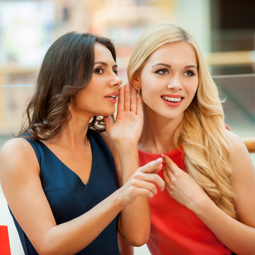 women gossipping