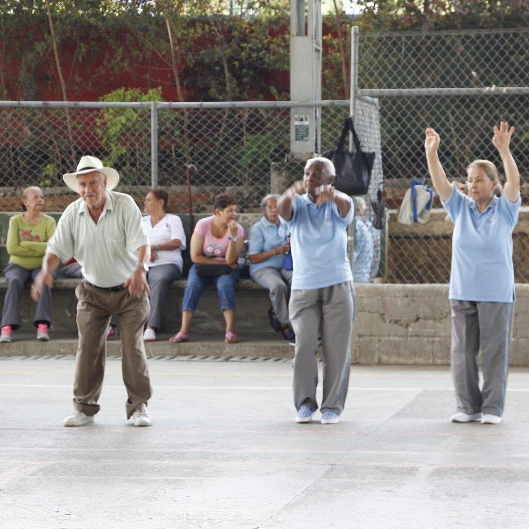 Unbound elders exercise