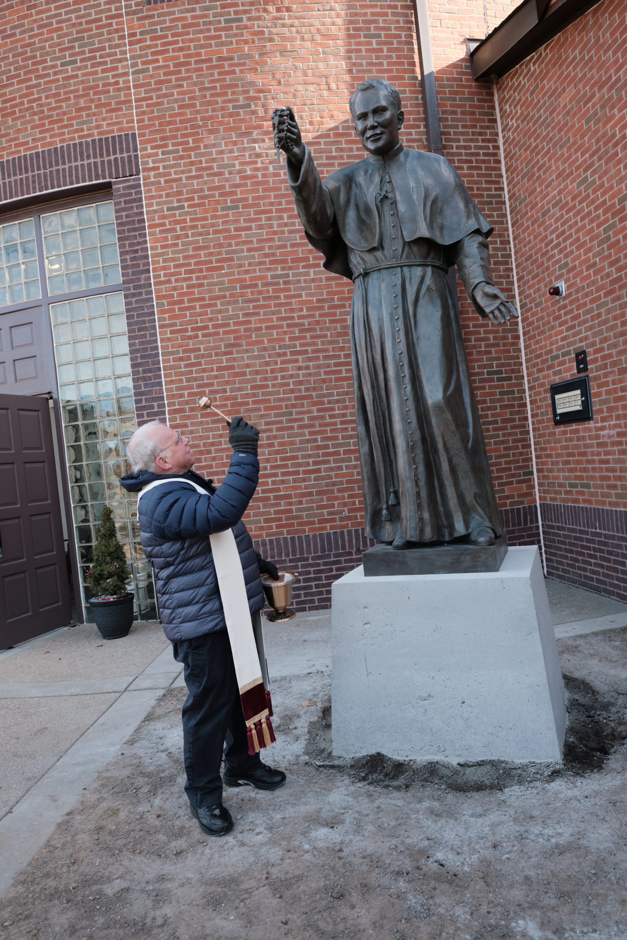Blessing of Ven Patrick Peyton Statue 2021