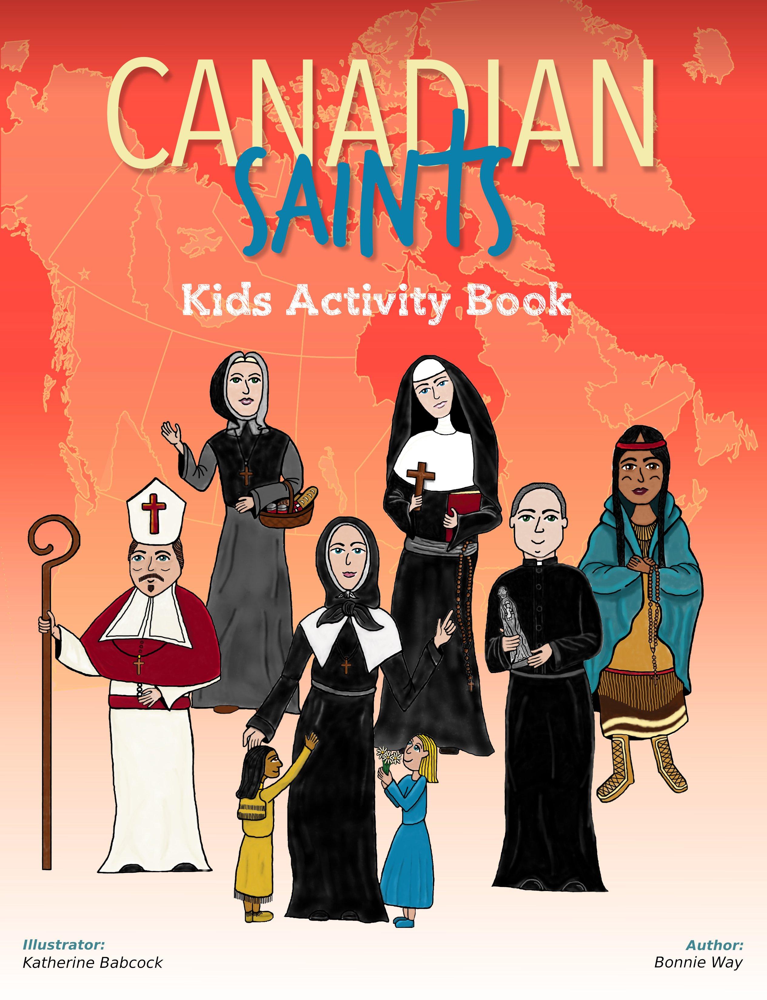 Canadian-Saints-Kids-Activity-Book