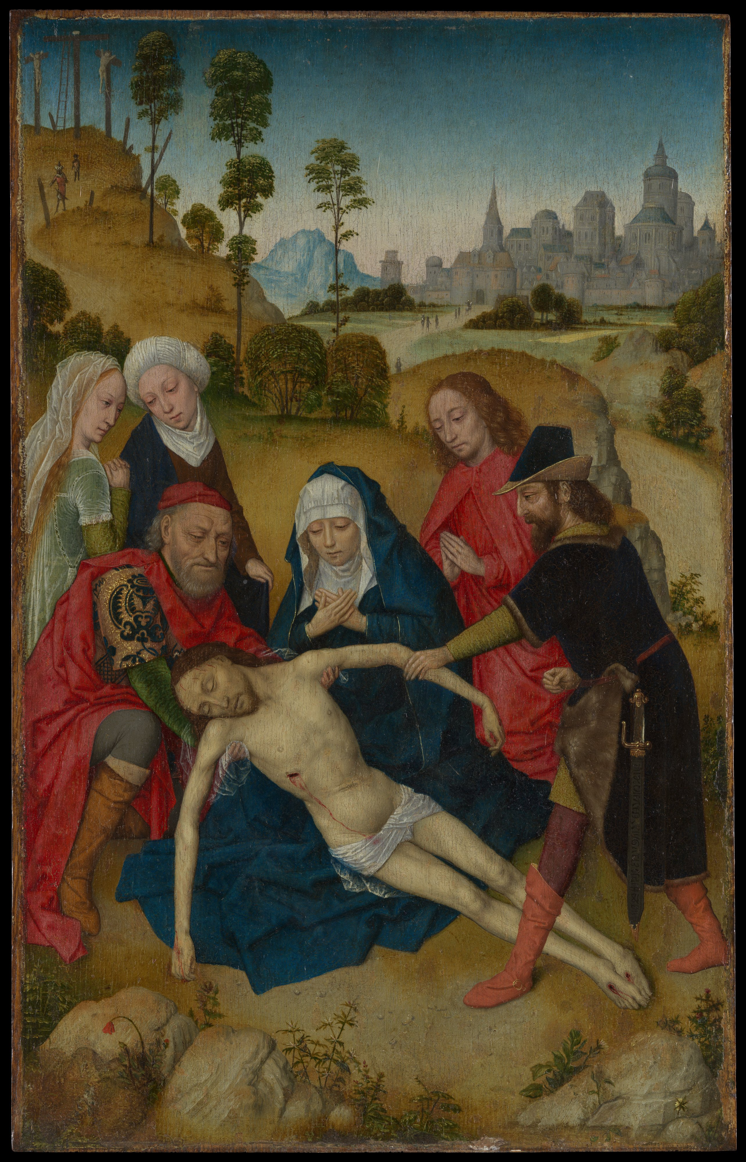 """""""The Lamentation of Christ"""" painting"""