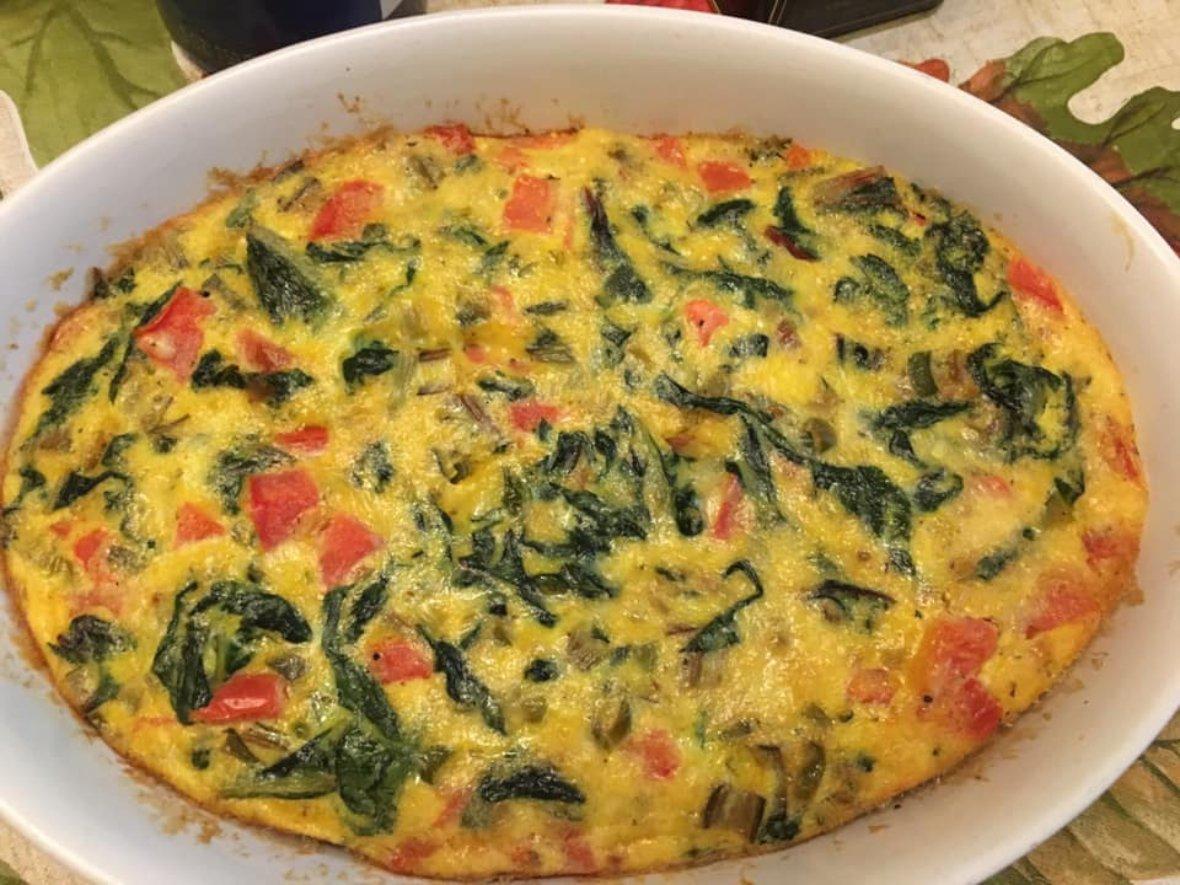 Elizabeth egg bake 2