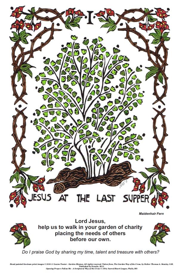 Garden Way of the Cross poster