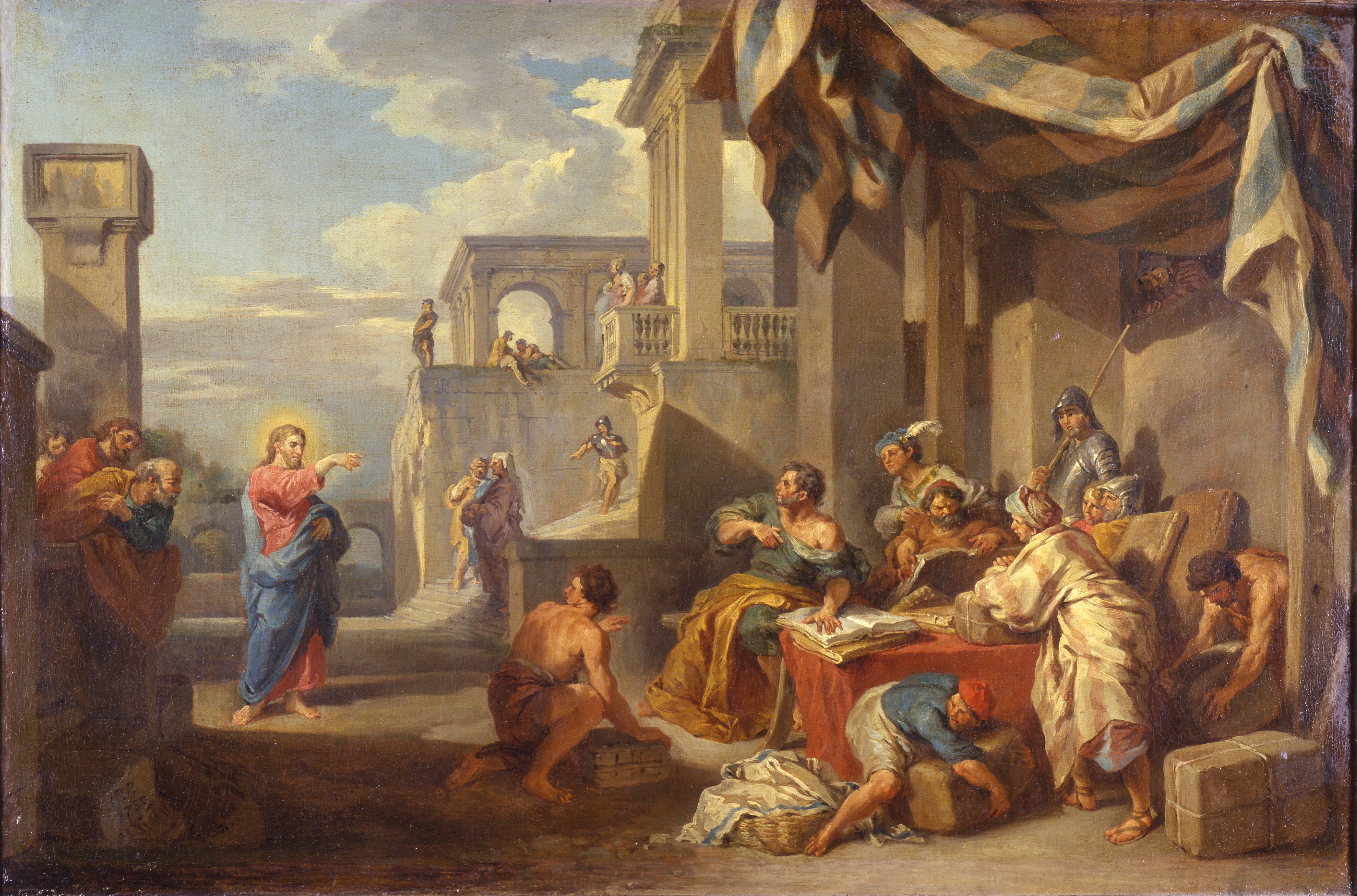 Giovanni_Paolo_Panini_-_The_Calling_of_Saint_Matthew_-_Google_Art_Project