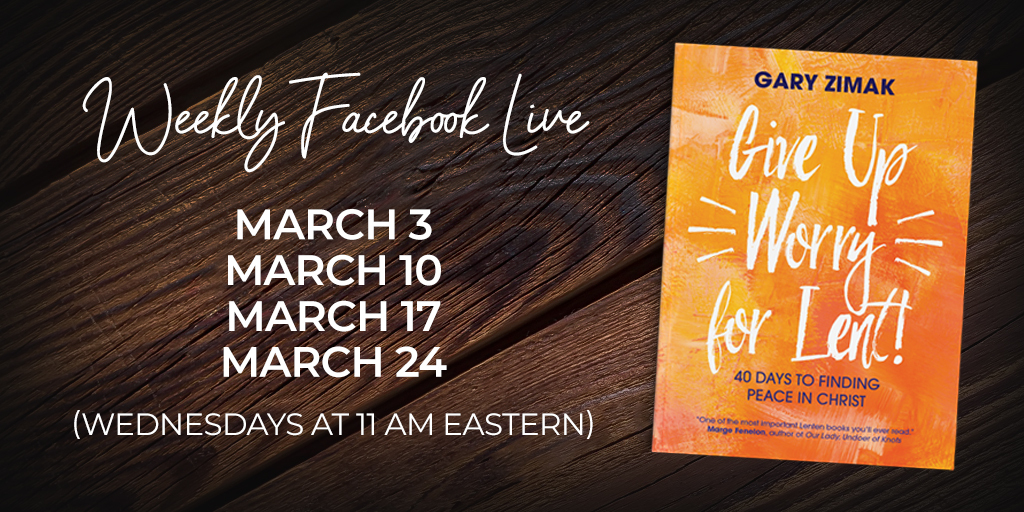 Give Up Worry Book Club FB Live
