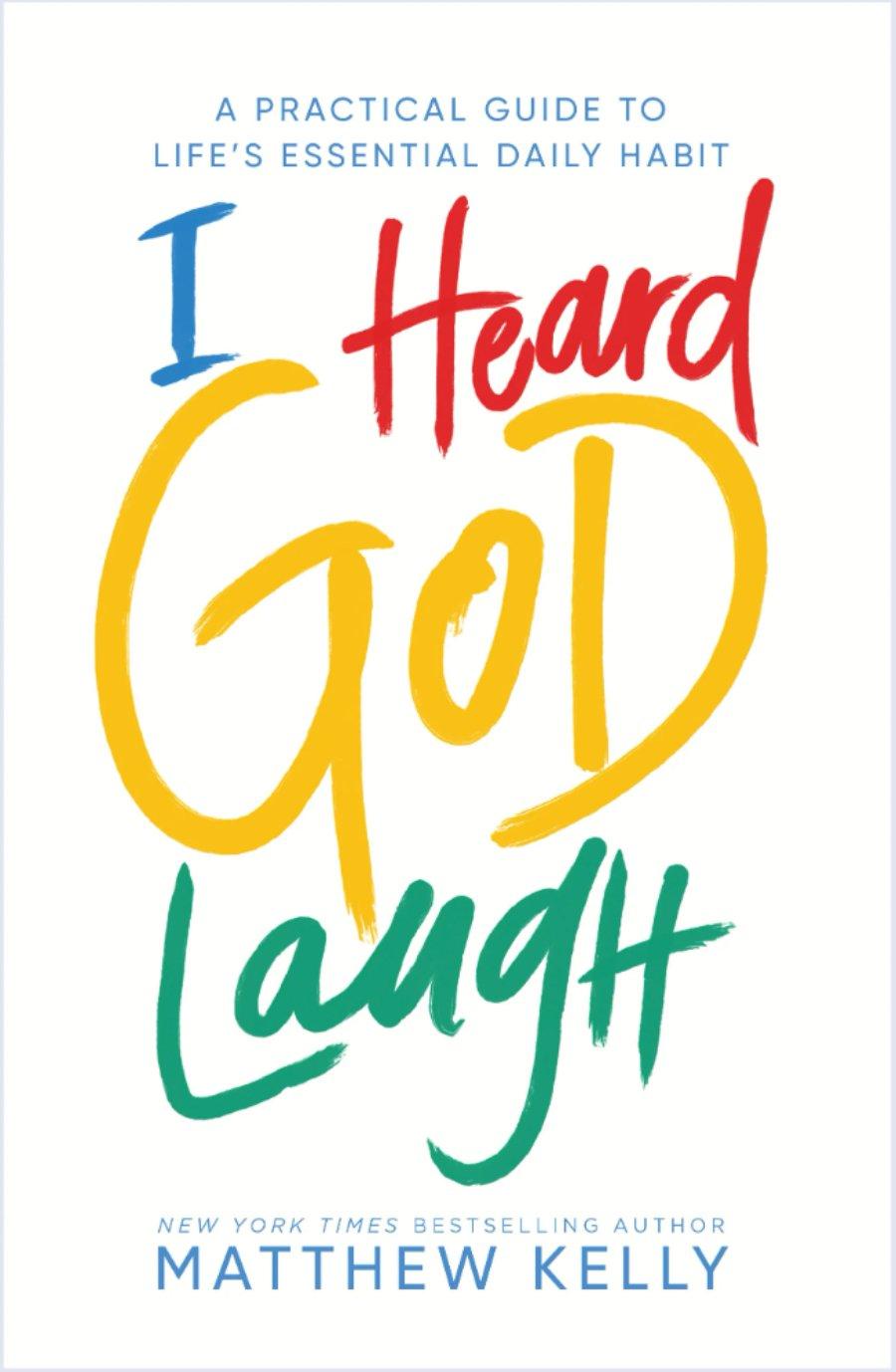 I Heard God Laugh cover