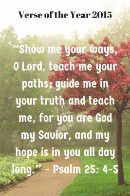 """Show me your ways, O Lord, teach me-2"