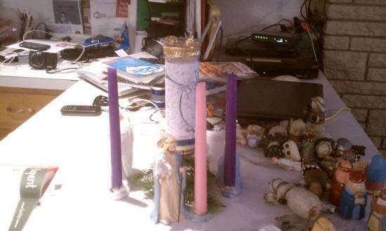 Advent wreath - shepherd