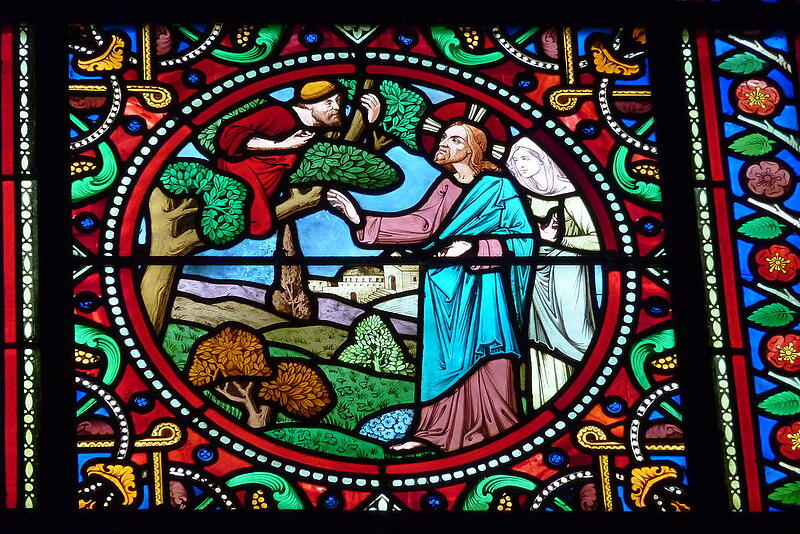 """""""Reflection for the 31st Sunday in Ordinary Time: No-Brainer for Zacchaeus"""" by Marcellino D'Ambrosio (CatholicMom.com)"""