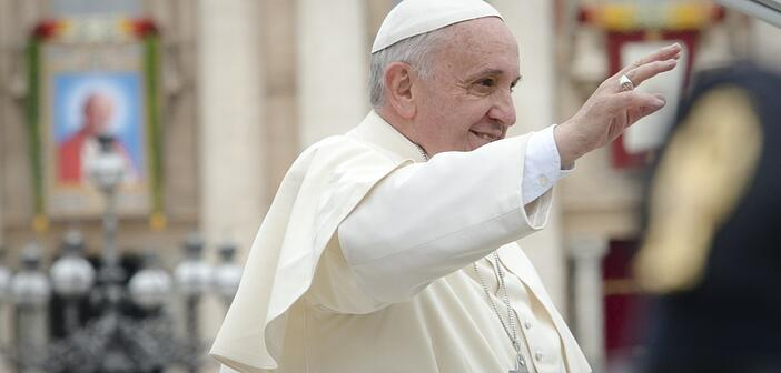 """Canonization 2014-The Canonization of Saint John XXIII and Saint John Paul II"" by Aleteia Image Department (2014) via Flickr, CC BY-SA 2.0."