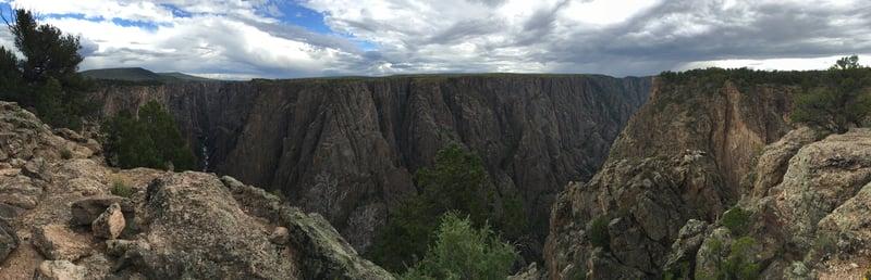 Vast Canyon, Deep and Narrow