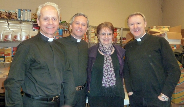 The Priests and me! A privilege to be with such Godly men.