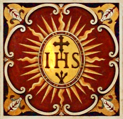 ISH Monogram--the Name of Jesus (2006) by Waiting For The Word (2006) via Flickr, CC.