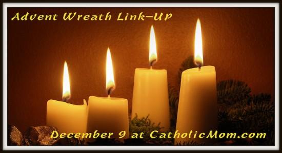Advent Wreath Link-Up at CatholicMom.com