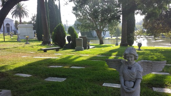 Highlight of my Hollywood Visit - the Hollywood Forever Cemetery