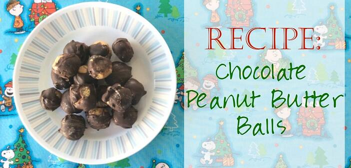 Faith and Fabric - Chocolate Peanut Butter Balls