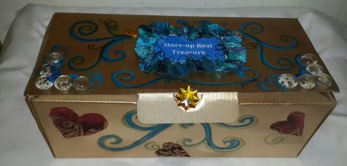 Treasure box designed by Judith Costello