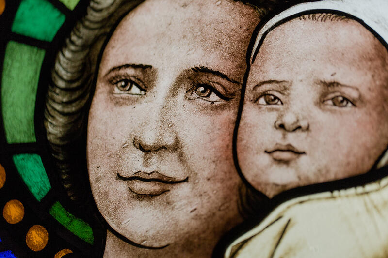 Saint Gianna Molla by Spiritjuice via Flickr (2014), all rights reserved.