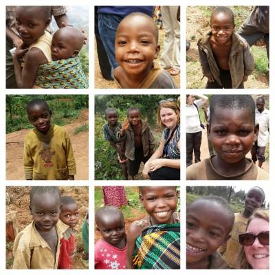 My new Rwandan friends