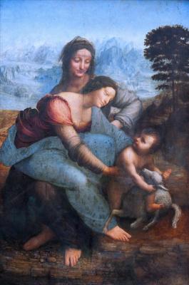 The Virgin and Child with St. Anne: Leonardo da Vinci