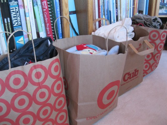 40 Bags for 40 Days for Whom
