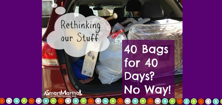 """""""40 Bags for 40 Days? Are You Kidding Me? A New Approach to Clutter"""" by Tami Kiser (CatholicMom.com)"""