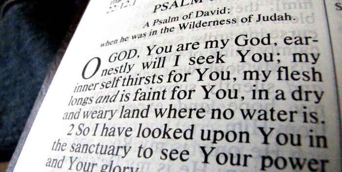 """Bible"" by Salvio Sebastian (2010) via Flickr, CC by 2.0."