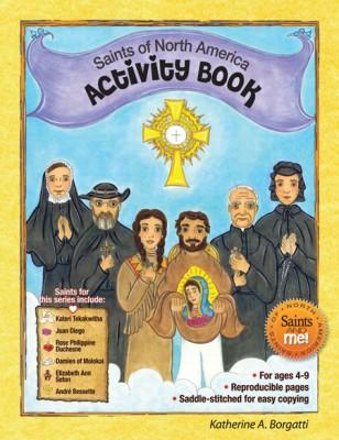 Saints of North America Activity Book