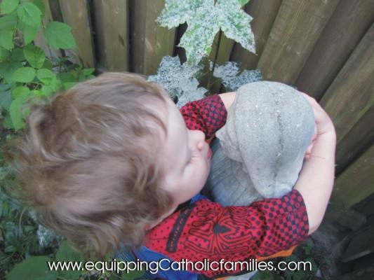 Adam hugging Mary (2)