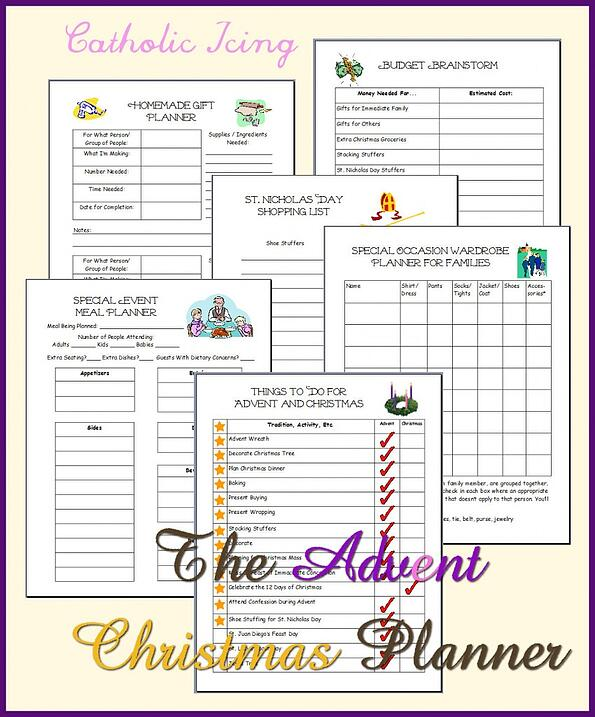 The Advent Christmas Planner