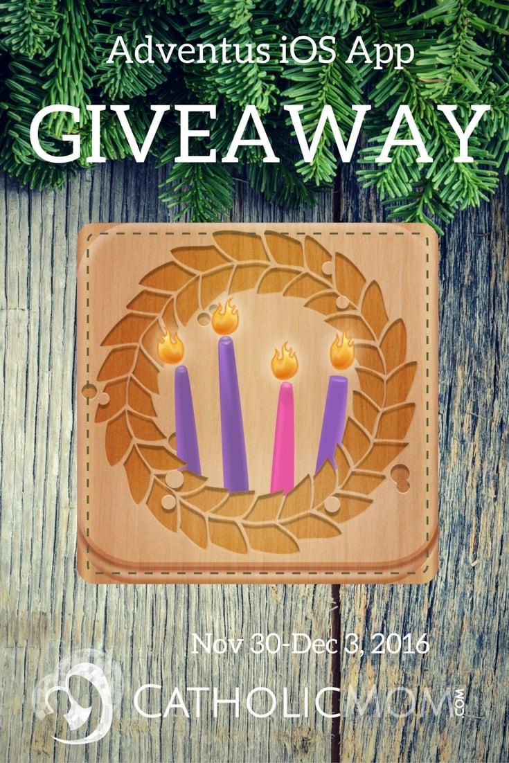 Enter to win a free copy of the Adventus iOS app from November 30 through December 3, 2016.