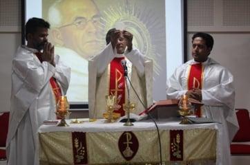 Paulines celebrating the Liturgy