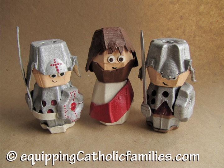 Arrest of Egg Carton Jesus