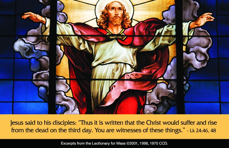 """""""Solemnity of the Ascension"""" by Dr. Marcellino D'Ambrosio (CatholicMom.com)"""