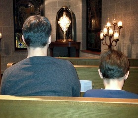Gadgets, Books, and Cuddles: Tips For Taking Your Kids To Adoration