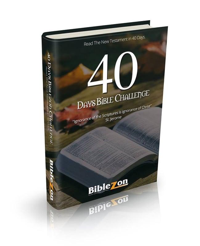 """Tech Talk: Take the Biblezon 40 Days Challenge"" (CatholicMom.com)"