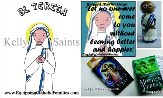 Blessed Mother Teresa Feast Day Fun