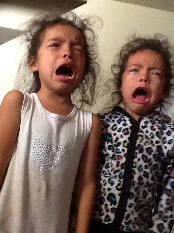 Briseno kids crying
