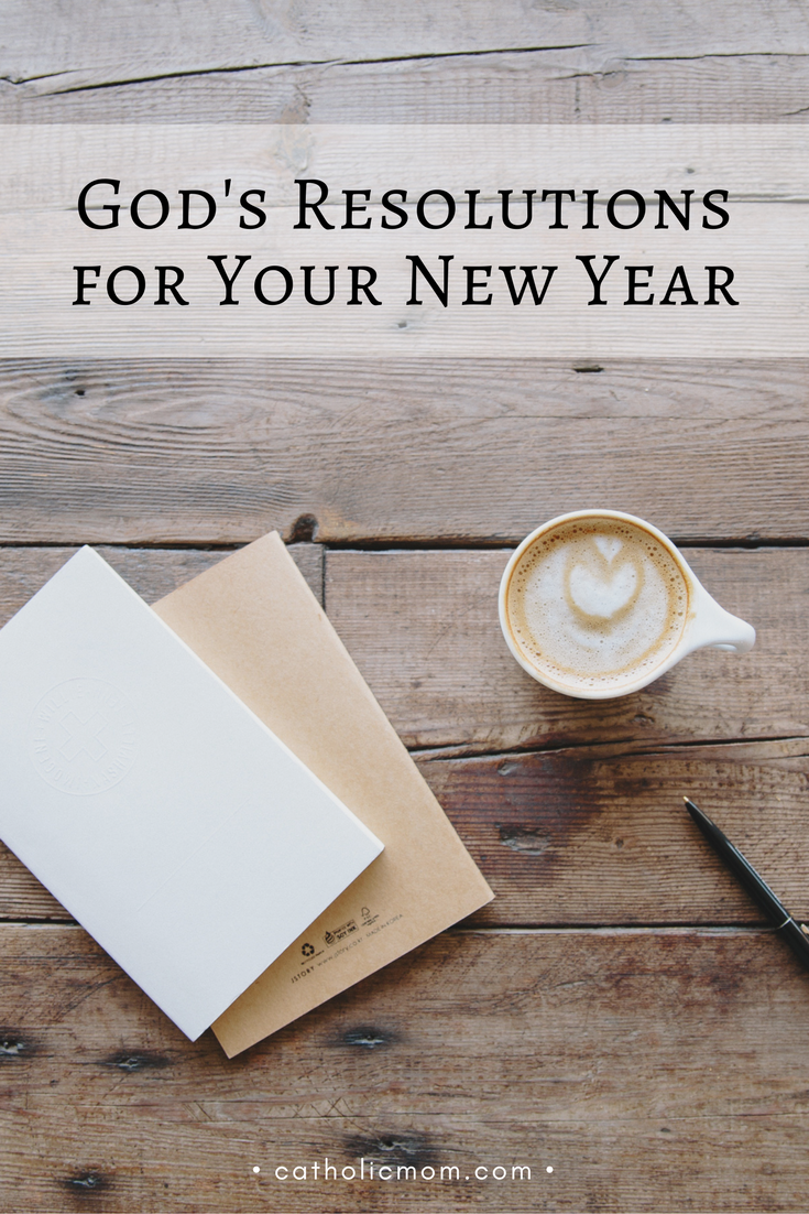 Inviting God Into Your New Year's Plans | CatholicMom.com