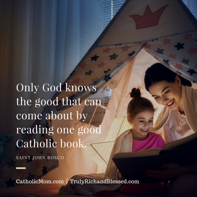 """Mom-recommended books for Catholic kids"" by Tina Santiago-Rodriguez (CatholicMom.com)"